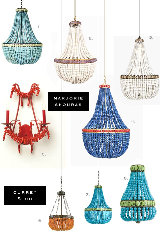 Marjorie Skouras For Currey And Company Lighting Fixtures.