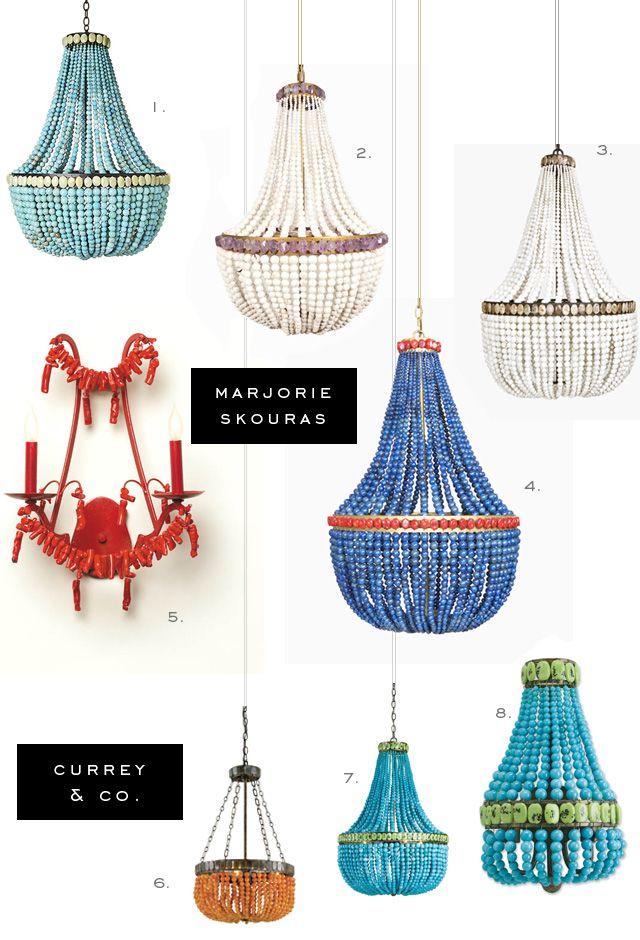 Marjorie Skouras For Currey And Company Lighting Fixtures.