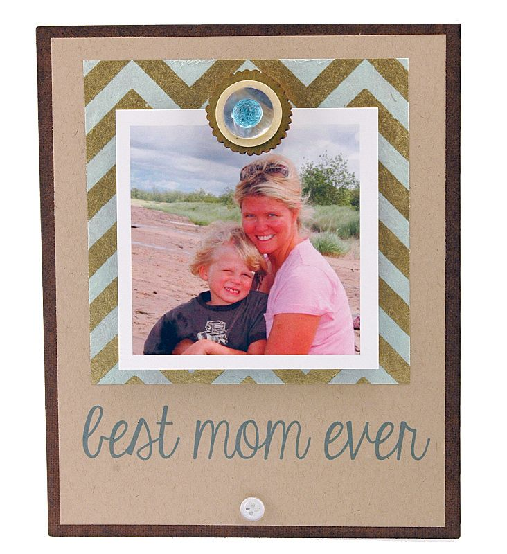 Best Mom Ever Magnet Frame Mothers Day Gift Personalized Frame