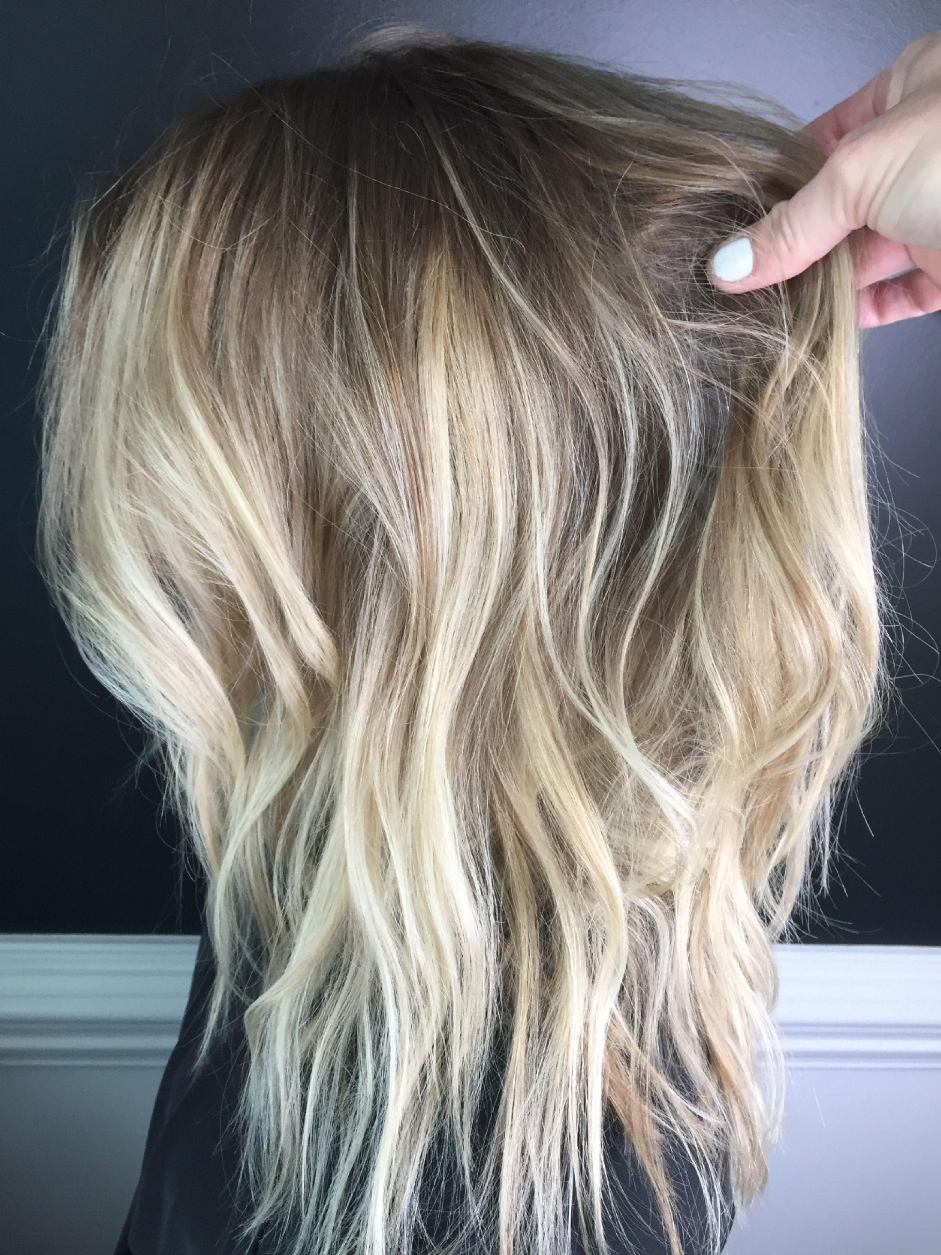 Blonde Balayage Blonde Balayage Hair Levels Low Maintenance Hair
