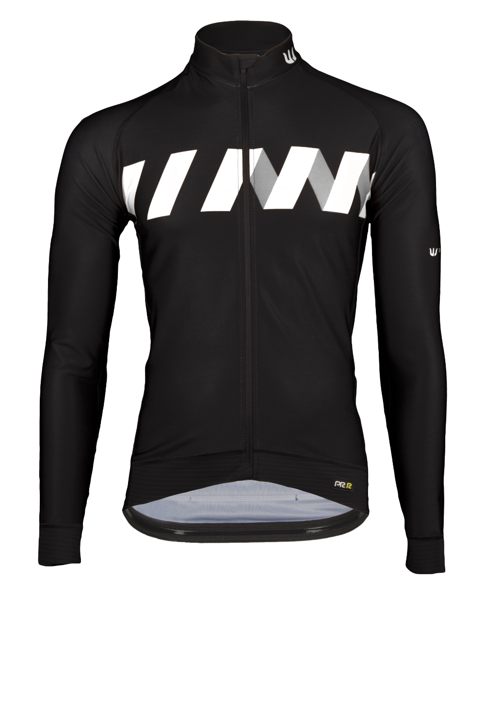 Vermarc winn jersey long sleeve black white in 2020 Long