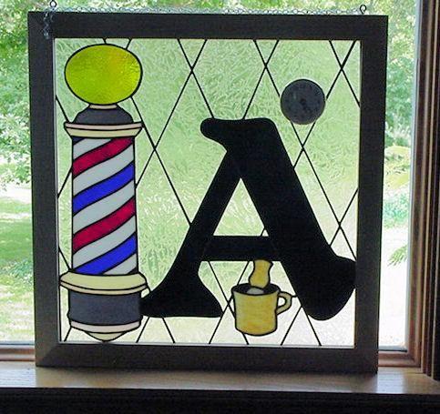 Barber Window - Delphi Artist Gallery