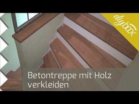 Extrem Betontreppe verkleiden - Treppenverkleidung mit Holz - Anleitung PP76