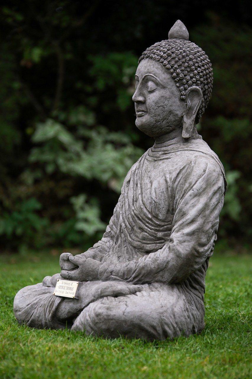 Large Stone Cast Meditating Buddha Garden Ornament Uk Buddha Statues For Sale Delivery Buddah Statue Statue Buddha Meditation