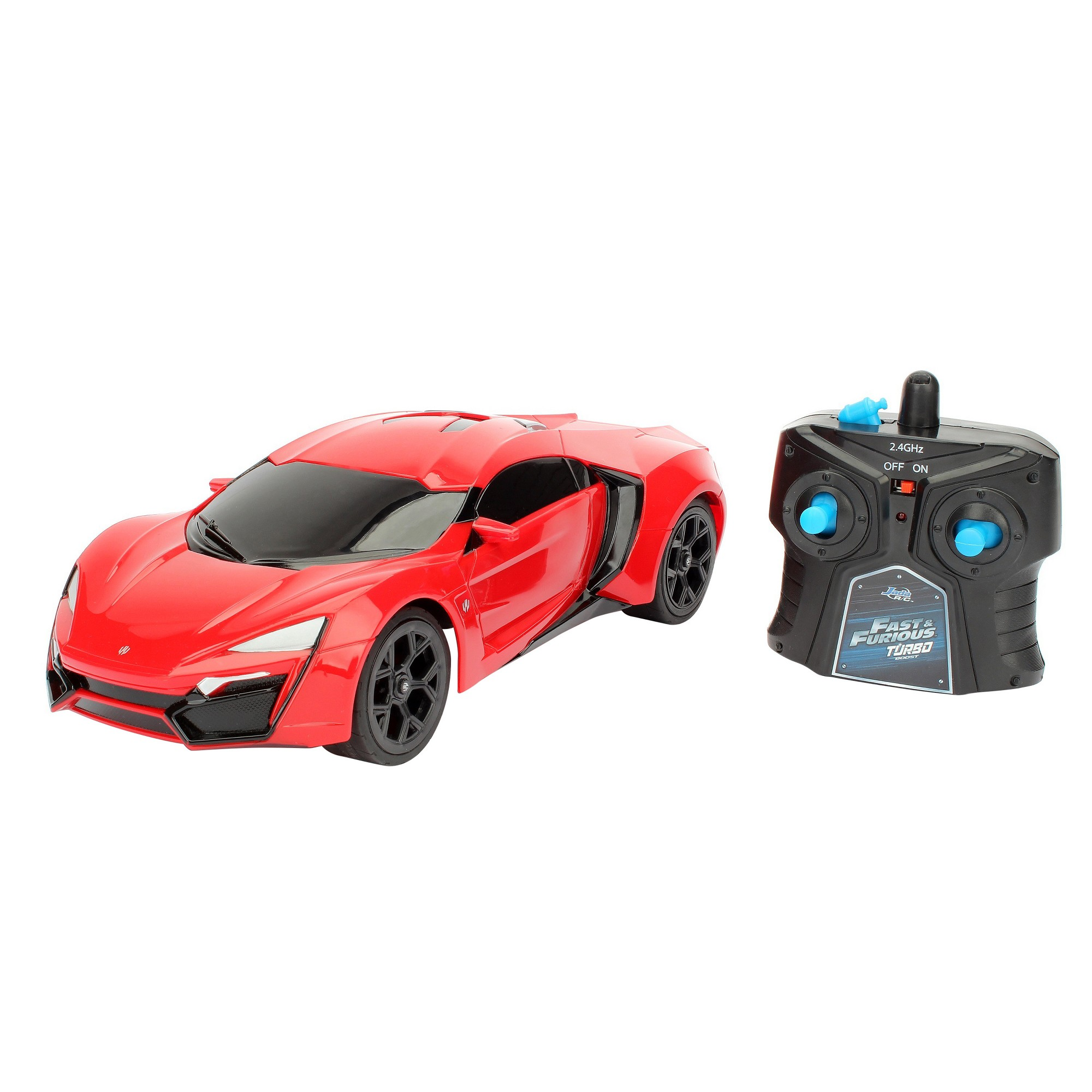 The Fast And The Furious Radio Control Rc Vehicle Lykan