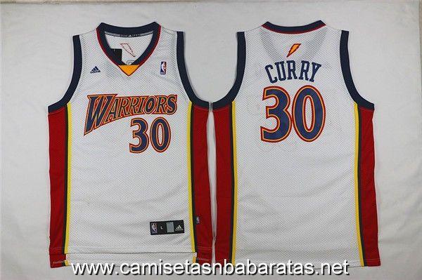camiseta Golden State Warriors blanco  30 curry Retro €19.99 ... 691be96e2bc