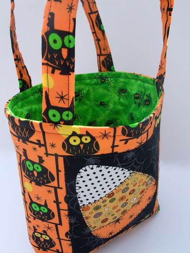 Pin by Trudy Campbell on Halloween quilting Pinterest - decorate halloween bags