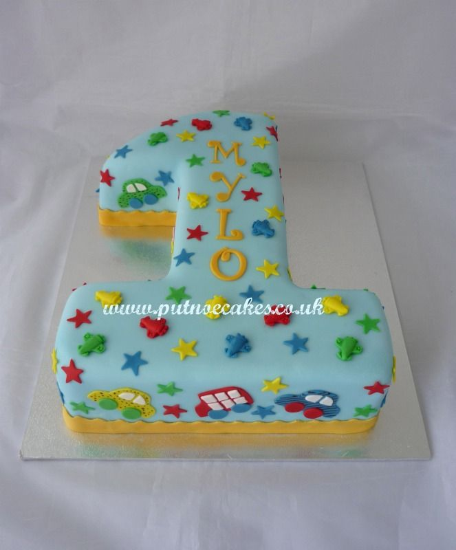 Number 1 cake, made a for a gorgeous little boy.  Really enjoyed making this colourful cake.