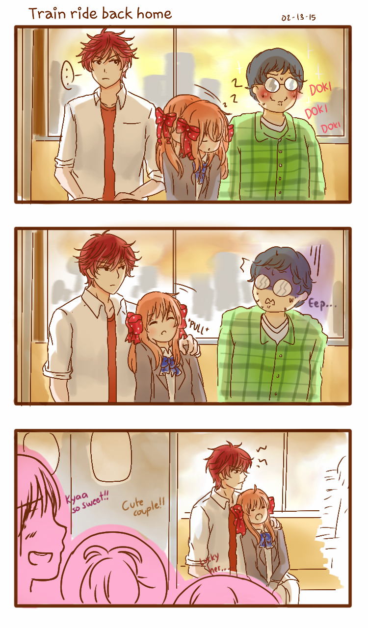 Overprotective!Mikorin gives me life. I like how they think mikochiyo is a couple. I like it so much.