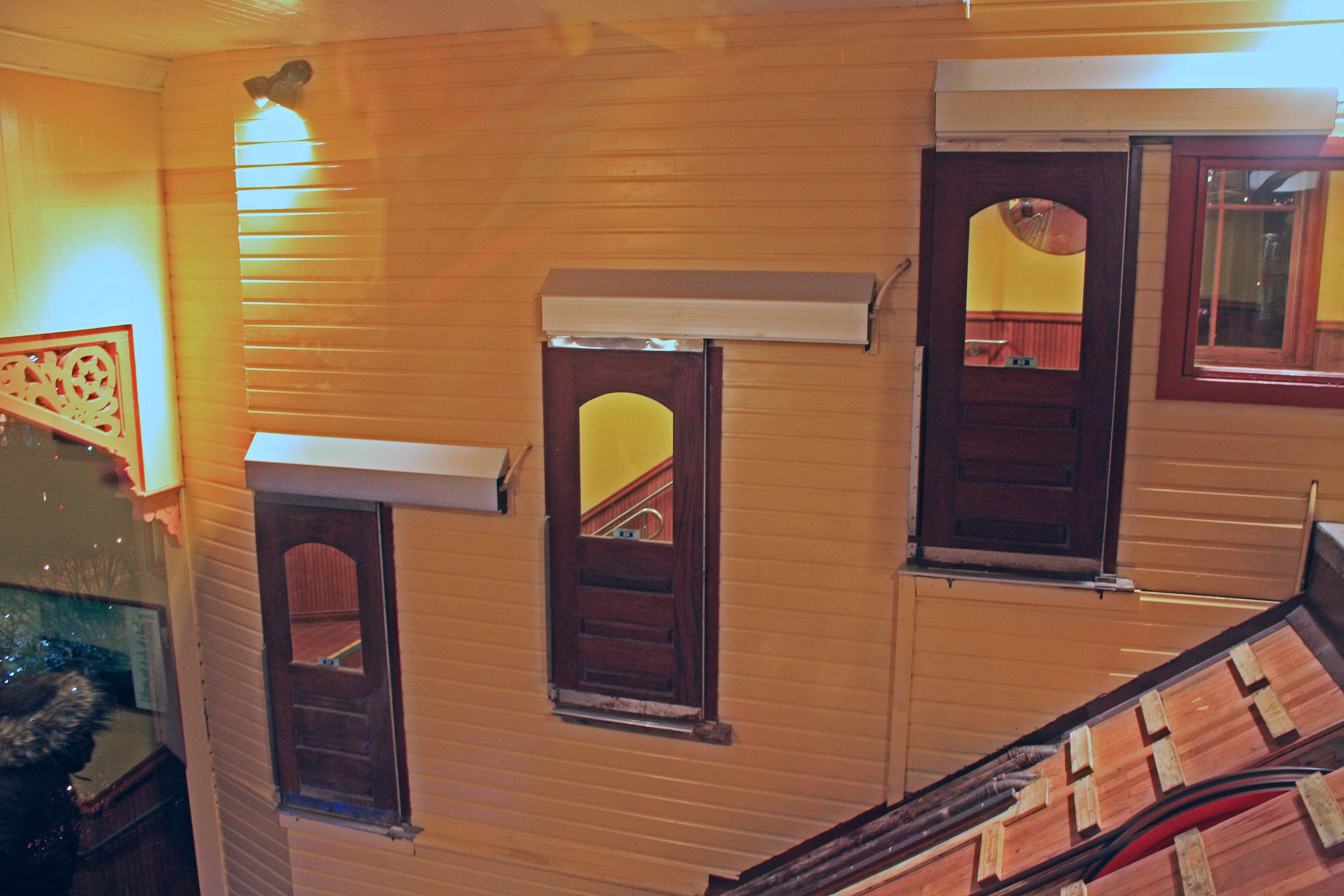 Incline Ingress/Egress Doors at Top Sta. of Mon. Incline 1/ & Incline Ingress/Egress Doors at Top Sta. of Mon. Incline 1/2/16 ...