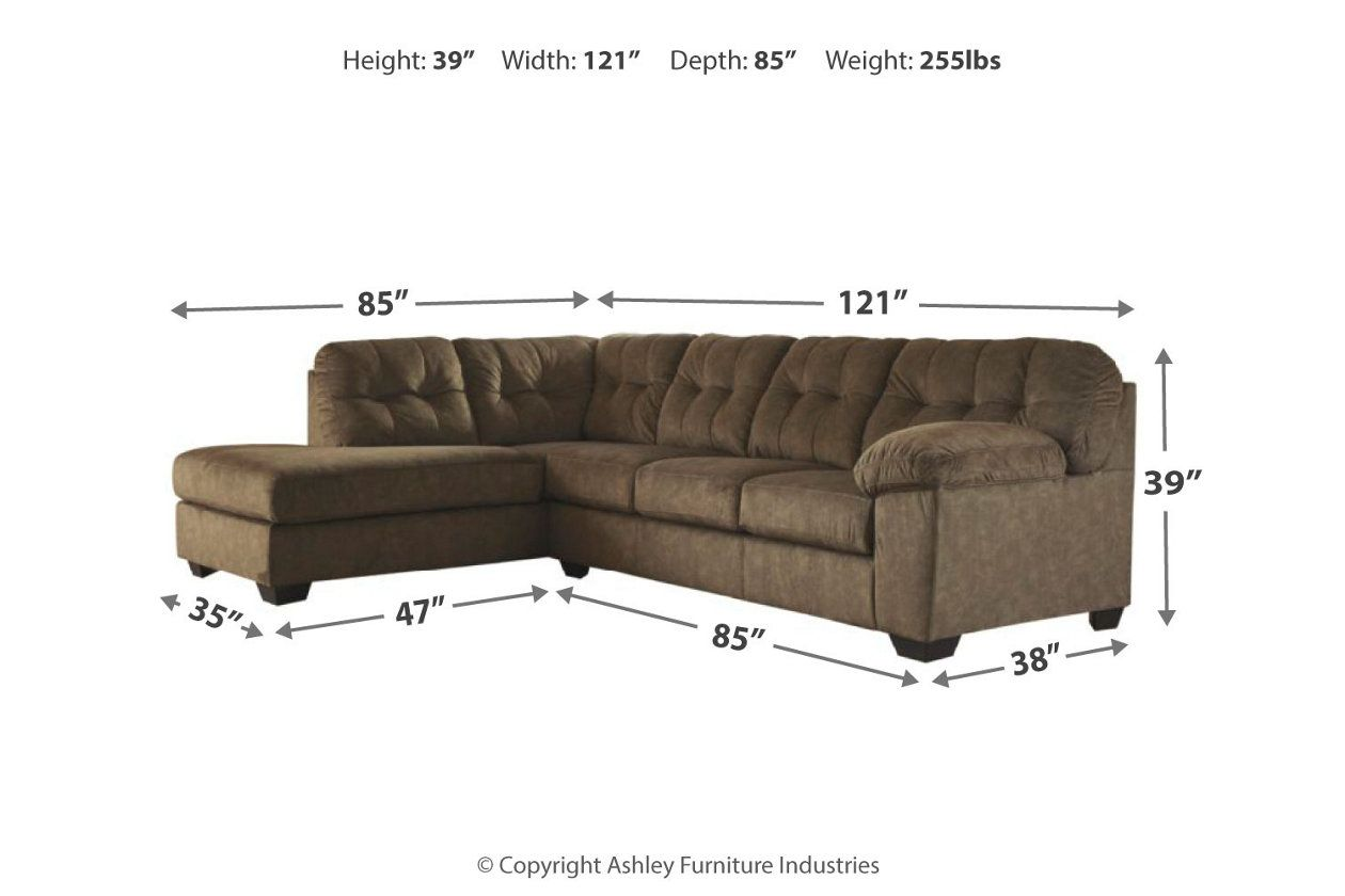Accrington 2 Piece Sectional With Chaise Ashley Furniture Homestore Sectional Cool Couches Ashley Furniture Industries