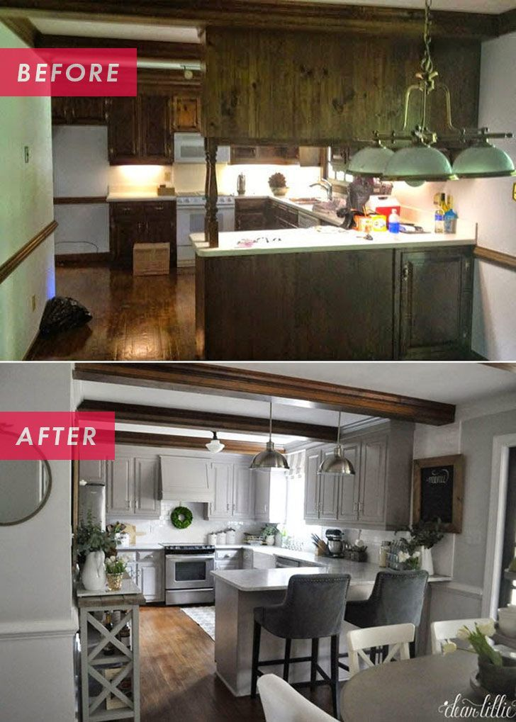 1960s Kitchen Remodel Before After: 11 Inspiring Kitchen Remodeling Ideas And Makeovers