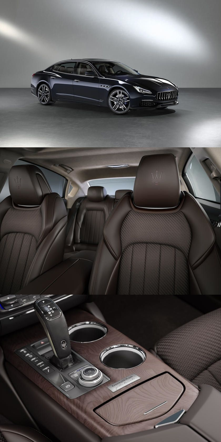 Limited Edition Maseratis Have Exquisite Woven Leather in