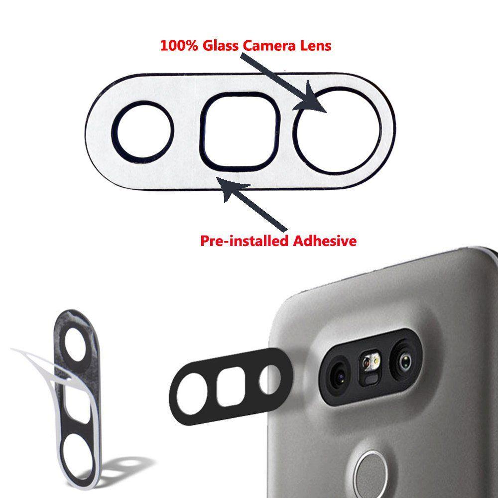 new styles d767c fe665 GTD Repair Back Rear Camera Glass Lens Cover Frame Holder ...