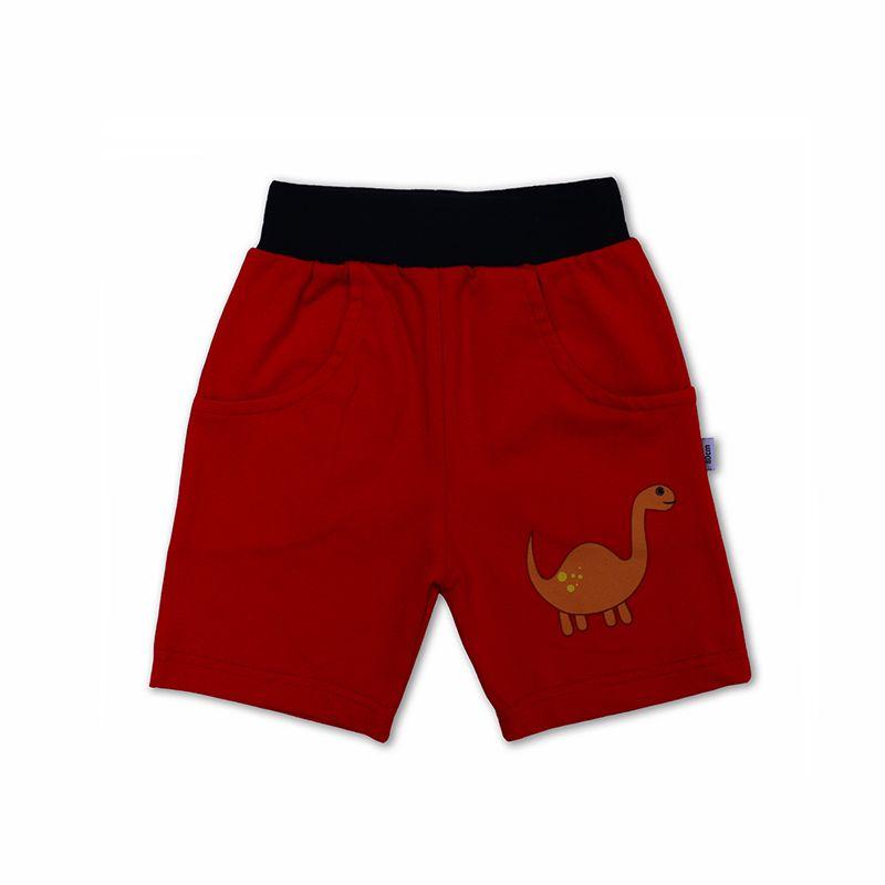 Red Dino Shorts In 2020 Summer Shorts Summer Kids Kids Shorts