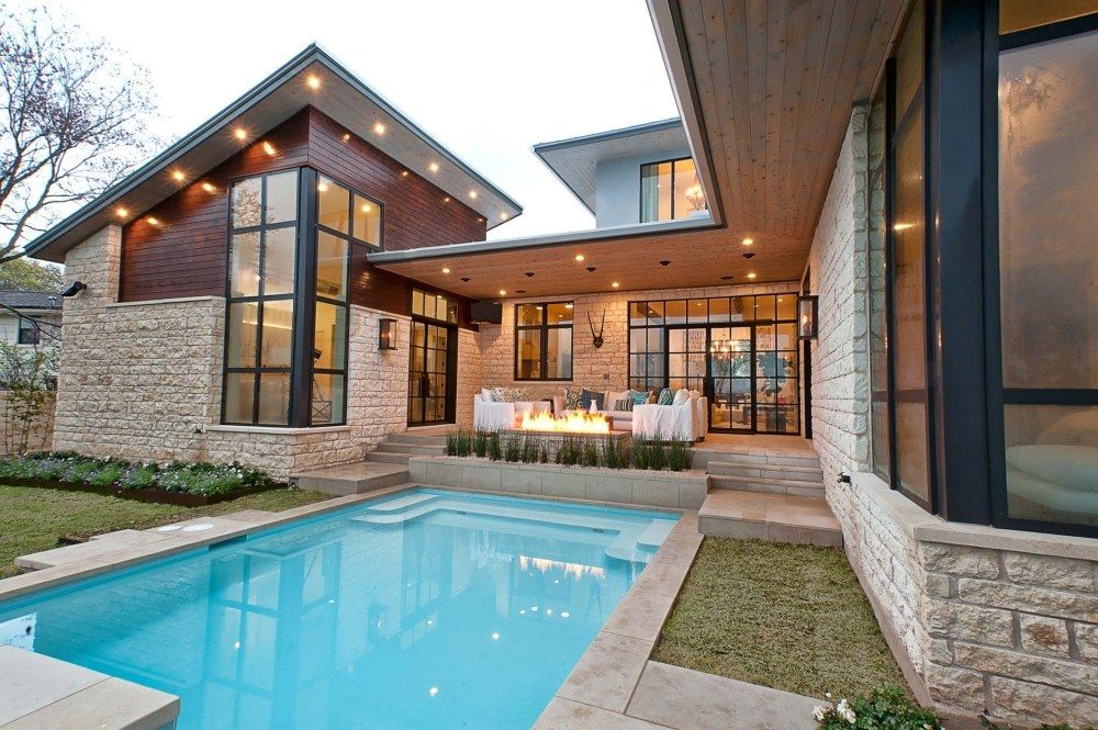 Cat Mountain Residence By Cornerstone Architects House Designs Exterior Contemporary House Exterior Modern Exterior