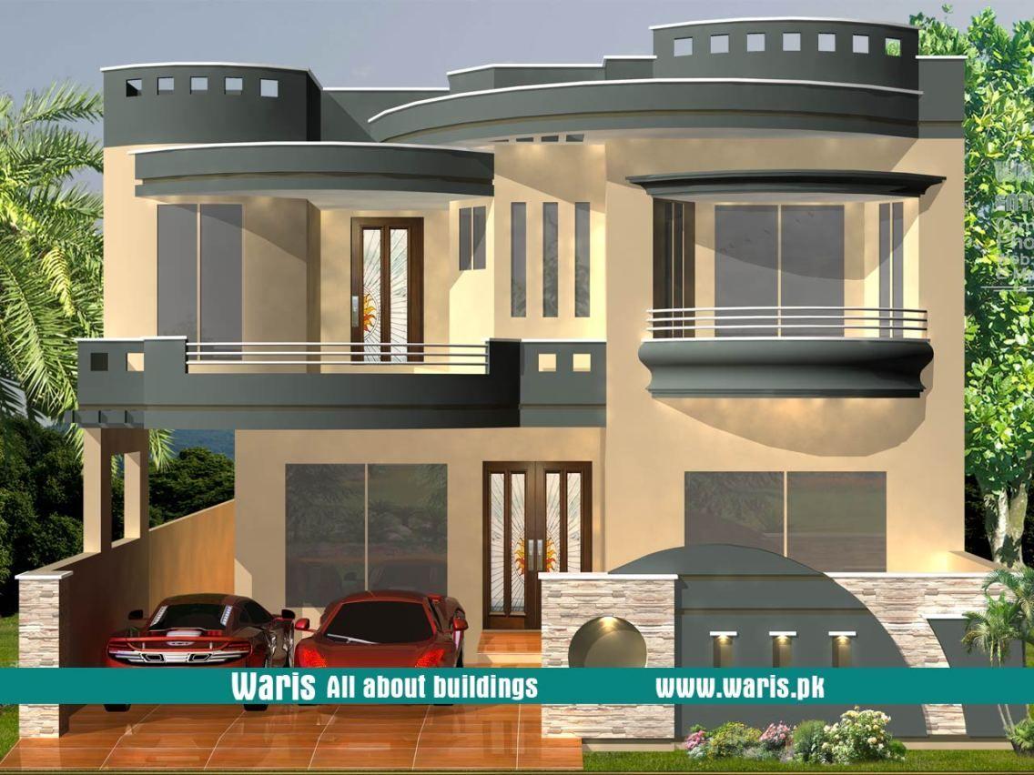 10 Marla 35x65 House Design In Pakistan 10 Marla House Plan Architectural House Plans Balcony Design