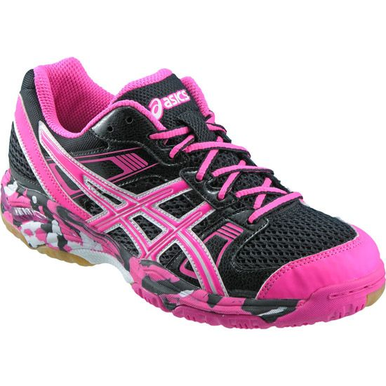 ASICS - the new hot pink volleyball shoes from ASICS.