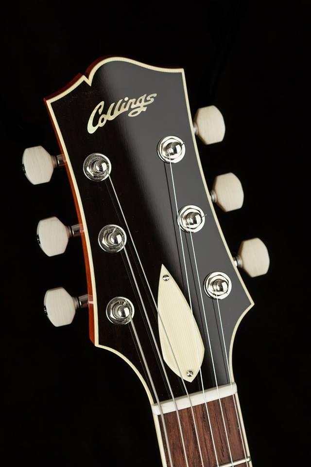 Collings Haircut Headstock Guitar Inlay Electric Guitar Guitar