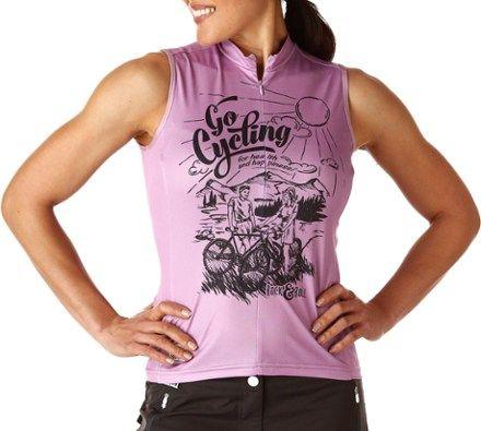maloja Women s BethM. Sleeveless Bike Jersey Bubblegum XL 628f15069