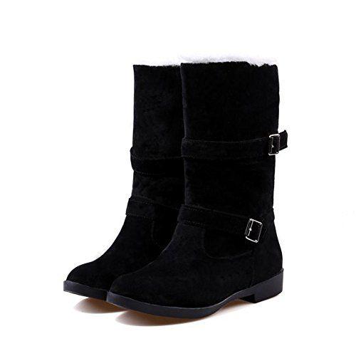 a22ae2f1ce1 XCC big size - new arrival fashion belt buckle botas femininas women boots  low-heel