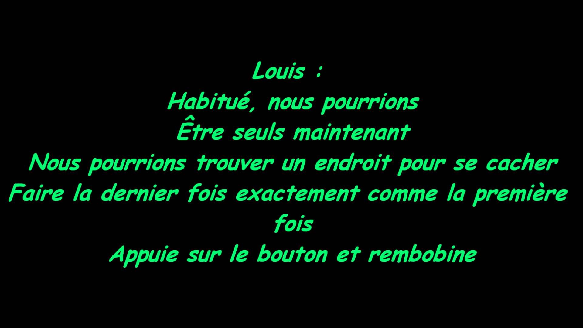 Summer Love One direction traduction française