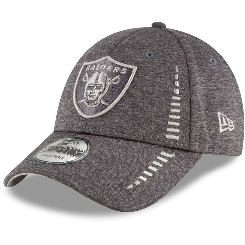 new arrival f59cf 82691 Oakland Raiders New Era Speed Shadow Tech 9FORTY Adjustable Hat – Graphite