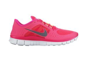 Running Nike Pink And Red Free Women's Run3 ShoesLove eWD2IEH9Y