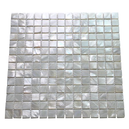 6 Pack Oyster Mother Of Pearl Square Shell Mosaic For Kitchen Backsplashes Bathroom Walls Spa Tile Pool Tile 12 X 12 Walmart Com Shell Mosaic Tile Spa Tile Mosaic Tile Backsplash