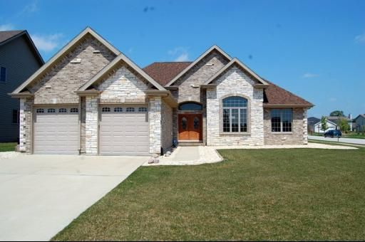 Brick And Stone Ranch Houses Ranch Style House Plans Ranch Style Homes Ranch House