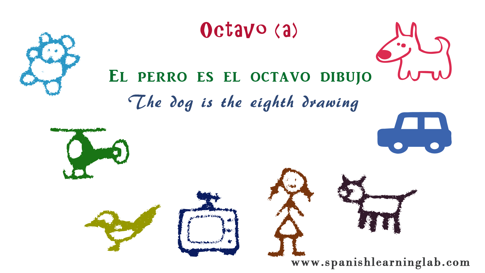This Time We Are Using Some Dibujos Drawings To Show