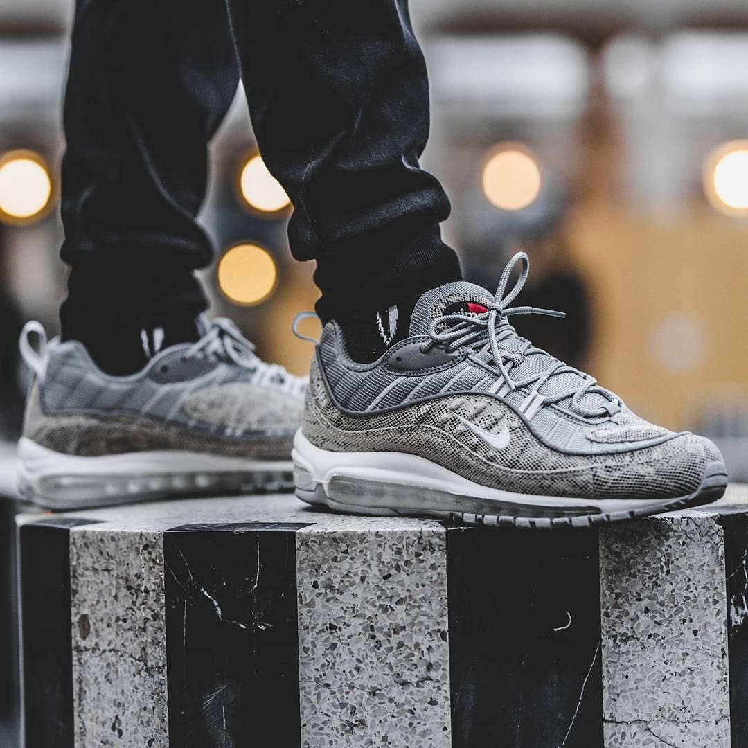 What Did You Wear Today Nike Air Max 98 Supreme Snakeskin Souvenirsombre Shop Our Feed Hit Lin Running Shoes On Sale Discount Shoes Online Fashion