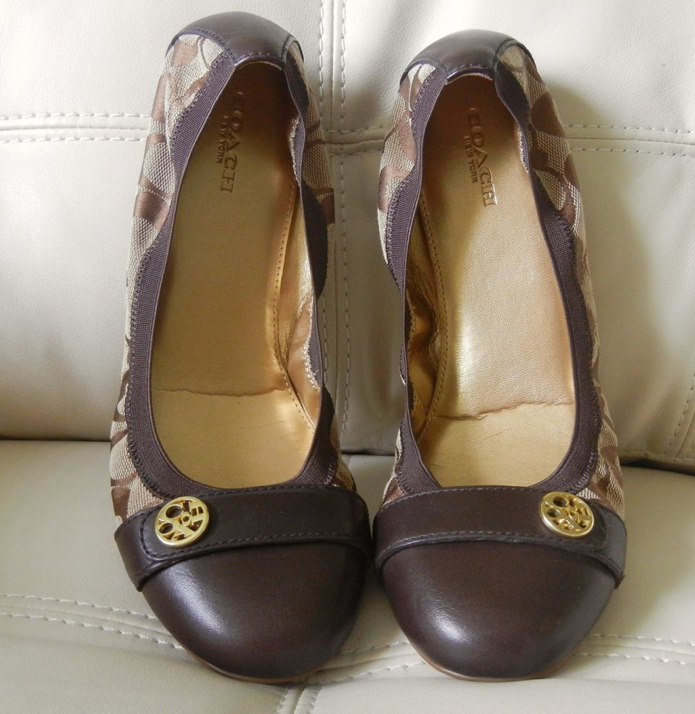 Womens Shoes COACH Chelsey Chestnut/Khaki Matte Calf