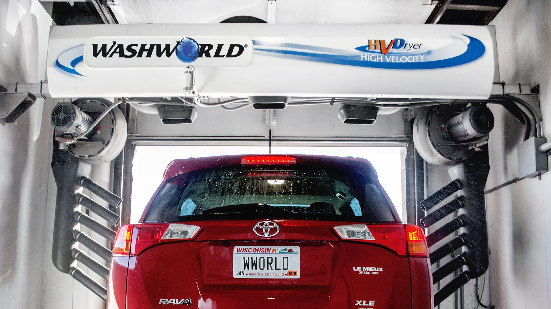 Washworld offers multiple car wash dryer or blower