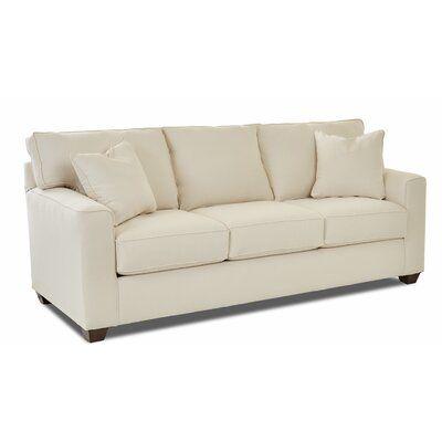 Wayfair Custom Upholstery Lesley Sofa Body Fabric Sunbrella Meridian Twilight Sofa Custom Upholstery Sofa Upholstery
