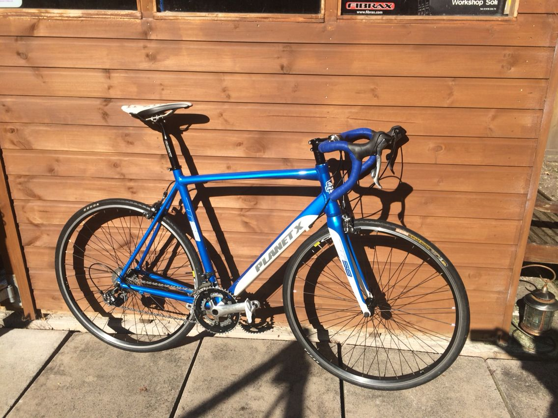 We\'ve just done a parts swap over onto this Planet X frame. Another ...