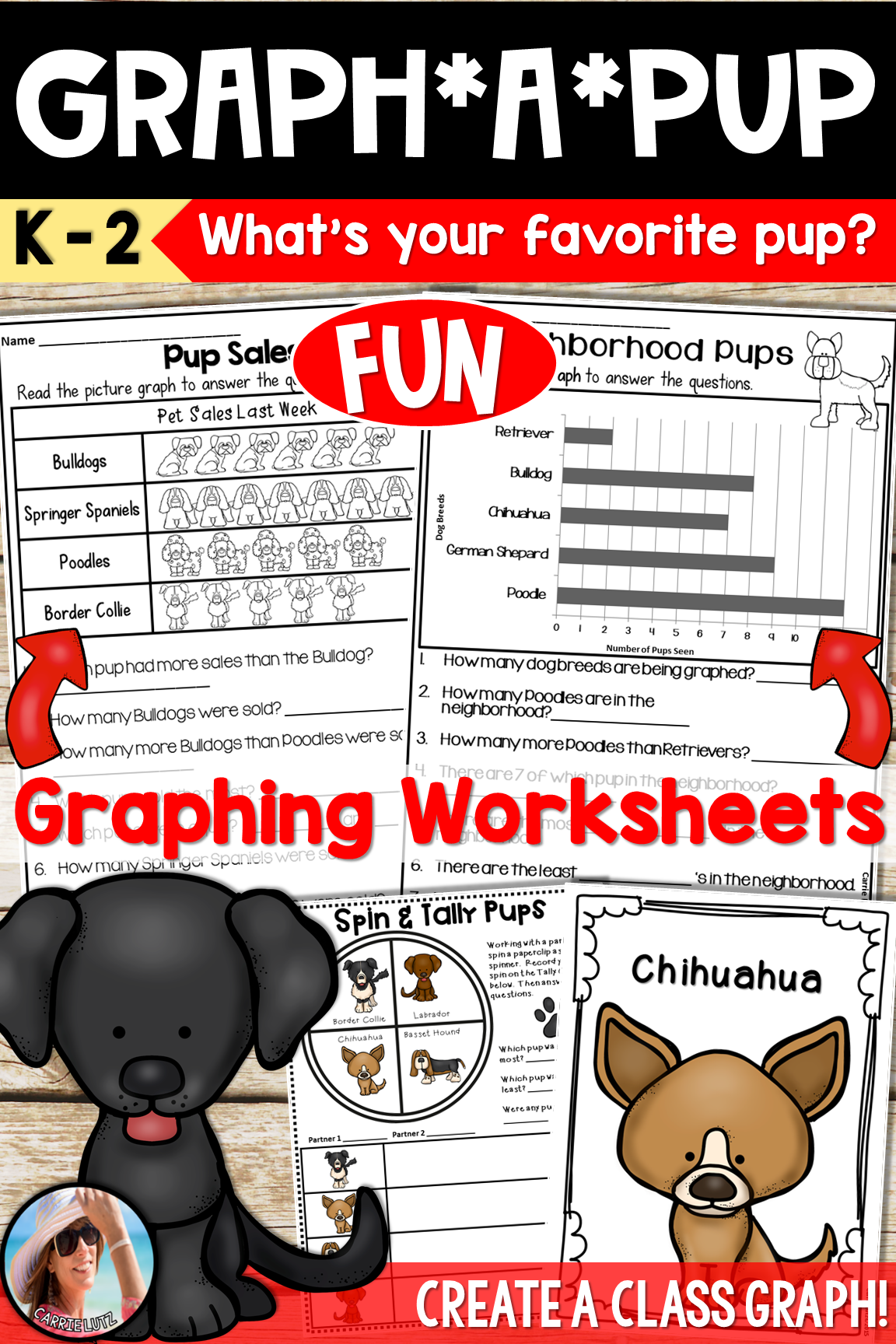 First Grade Graphing Worksheets