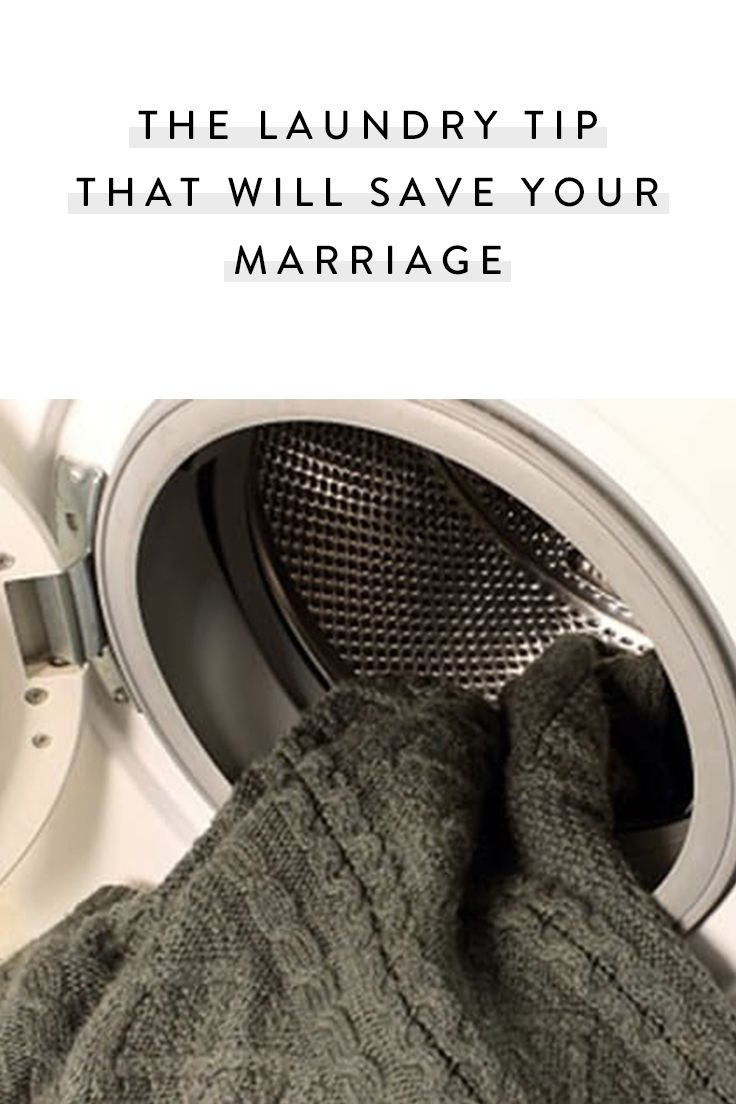 The Laundry Tip That Will Save Your Marriage | Kids & Family