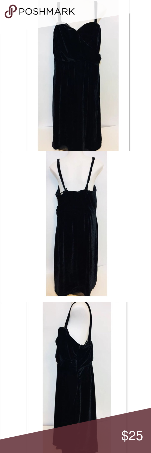 8fb42a53844 Spotted while shopping on Poshmark  Lane Bryant size 16 black velvet  sleeveless dress!  poshmark  fashion  shopping  style  Lane Bryant  Dresses    Skirts