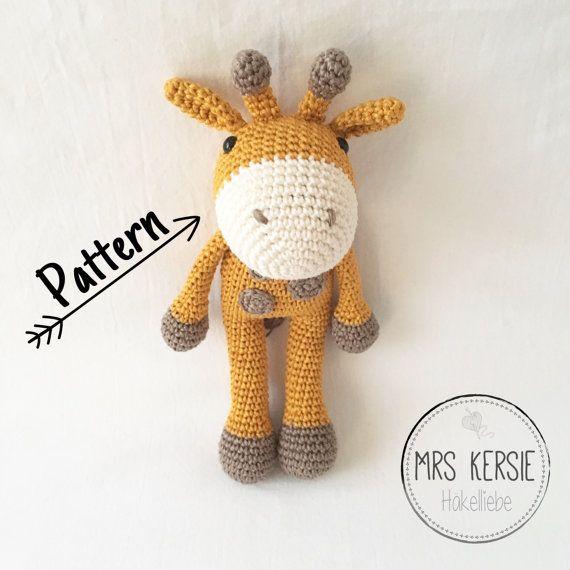 Häkelanleitung Gerda Giraffe DEUTSCH | Crochet Pattern Collection ...