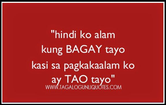 love quotes tagalog patama sa crush - Google Search | secret ...