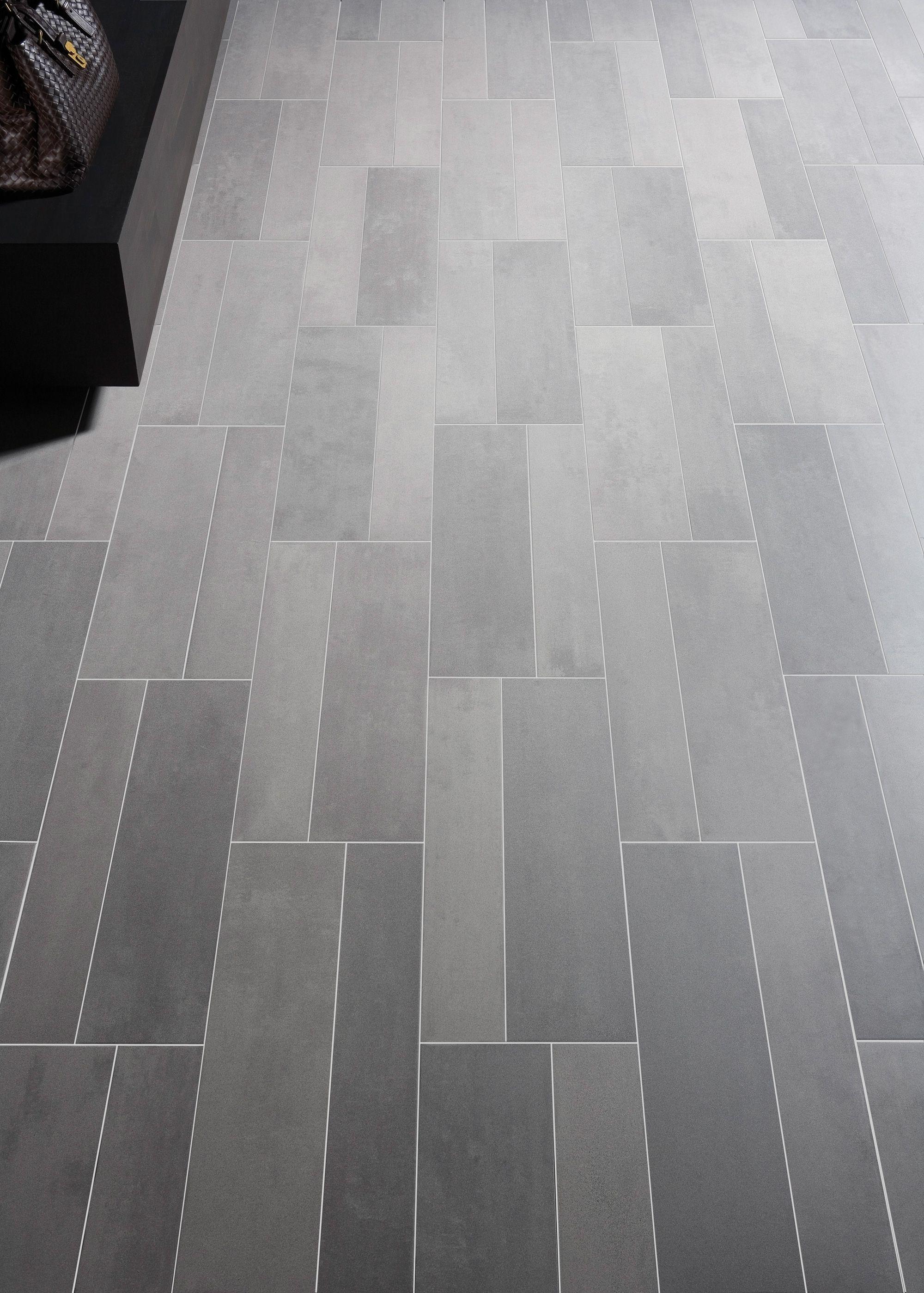 Grey Rectangle Floor Tile Tile Floor Modern Floor Tiles