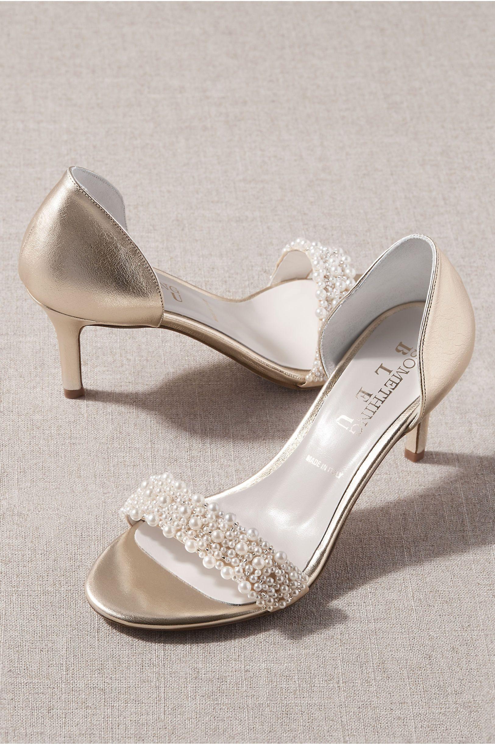 Something Bleu Cappy Heels In 2020 Wedding Shoes Comfortable Heels Bleu