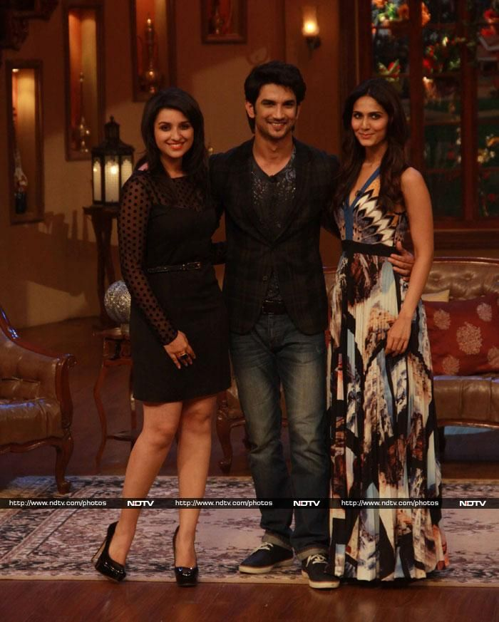 Pics: Funny Valentines: Parineeti, Vaani, Sushant Http://ndtv.