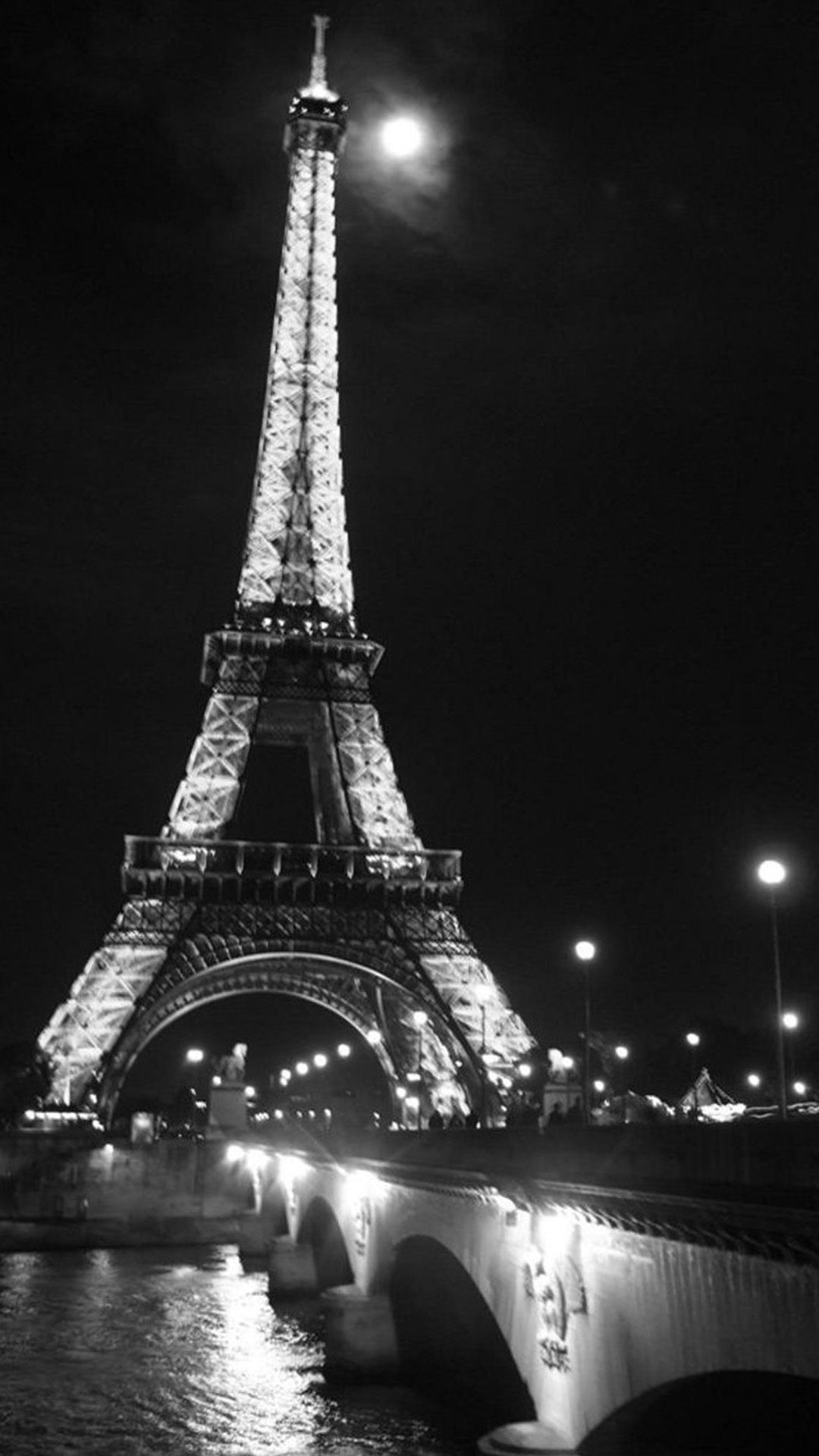 ombre black and white wallpaper Google Search Paris