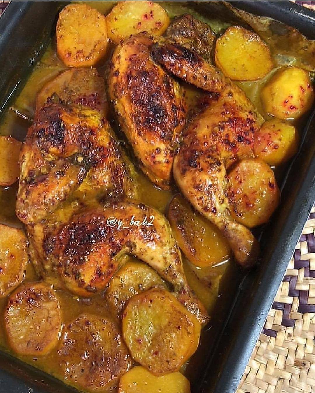 673 Mentions J Aime 5 Commentaires طبخة سهله وسريعه Lolikitchen22 Sur Instagram جربت اليوم تبهيرة لذيذة عجيبة Quick Easy Dinner Food Chicken Dishes