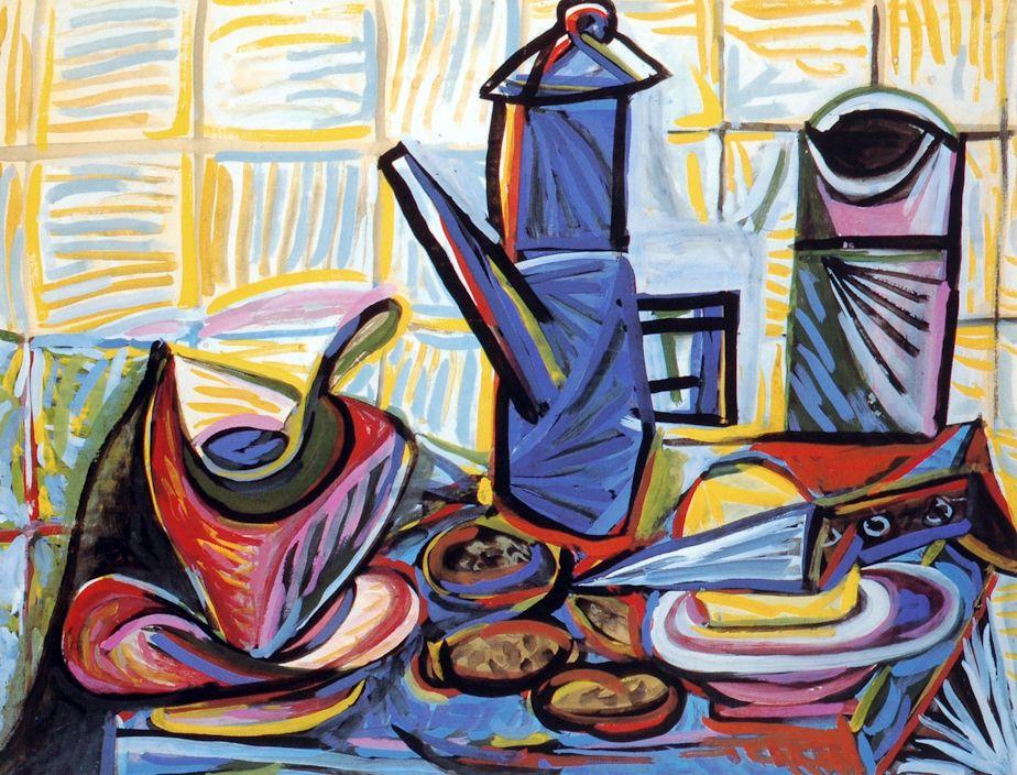 Picasso: Nature morte à la cafetière (1943) | Picasso 2 | Pinterest ...