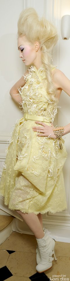 Dior Spring Couture 2010 Backstage - Runway Fashion