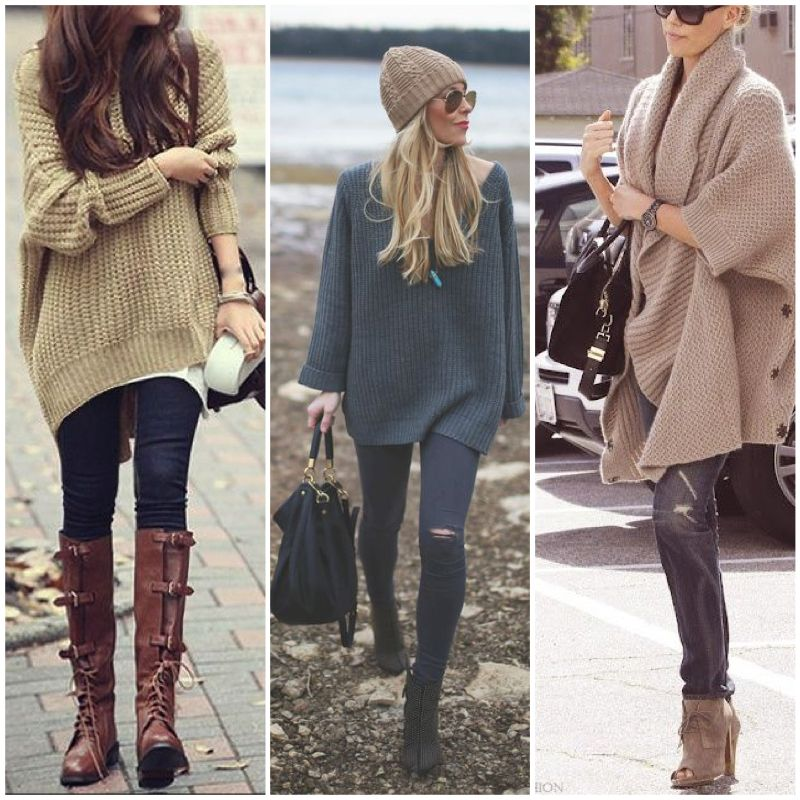 chunky sweater outfit - Google Search | Fashion | Pinterest | Fashion
