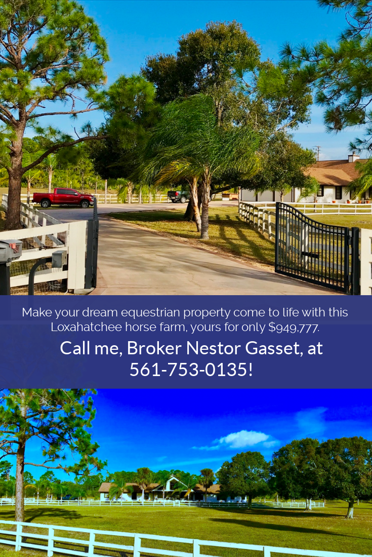 Make your dream equestrian property come to life in this Loxahatchee
